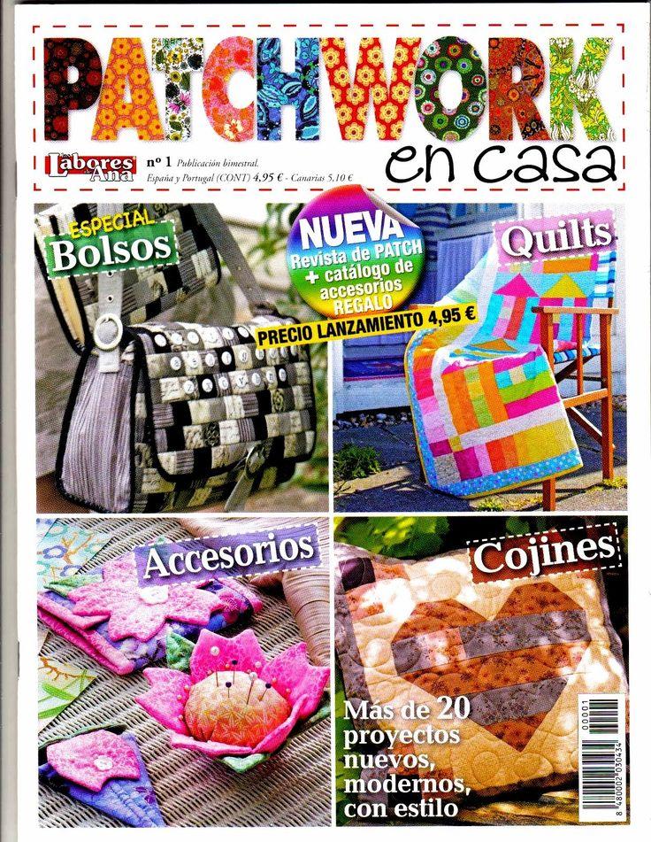Revistas Artesanato gratuitas: Patchwork Revista grátis