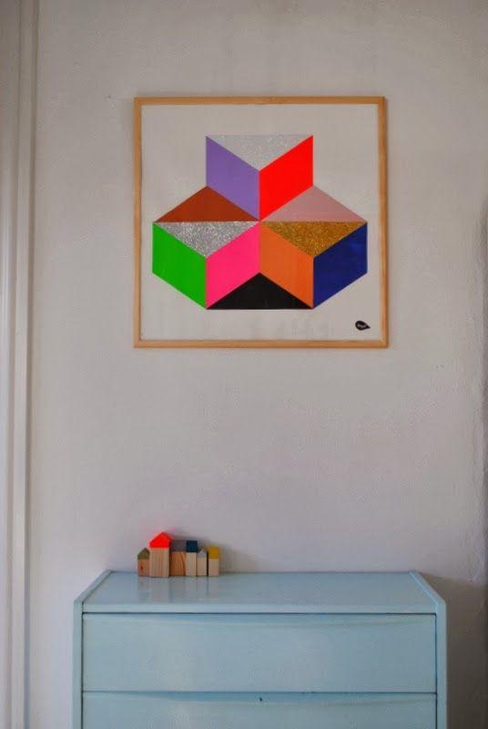 Mor til MERNEE: LeizyB Kunst på min væg....