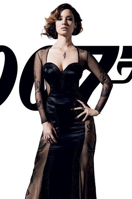 Berenice Marlohe (Severine - Bond Girl 2012) in Jany Tamime. It's an amazing dress. Watch the movie!