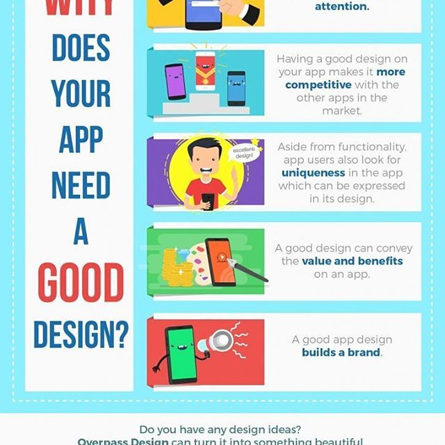 Infographic: Why Does Your App Need A Good Design?⠀ ⠀ #infographic #design #art #vector #illustration #flat #flatdesign #icons #freebies #free #artstagram #data #seo #marketing #promotion #business #appdesign #application #ios #android #design
