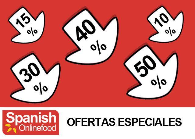 OFERTAS ESPECIALES!!! Aprovéchate de los grandes descuentos en nuestros productos.  http://www.spanishonlinefood.com/es/ofertas-especiales.html   #SoF #ComidaEspañola #España #Ofertas #Especiales #Descuentos #Rebajas #SpanishFood #Spain #JamonIberico #Offers #Discounts #SpanishHam #IberianHam #Espagne #NourritureEspagnole #Rabais #Spanien #SpanischesEssen #Sonderangebote #SpanishOnlineFood #Gourmet #Delicatessen #Yummy #Food #Foodies #FoodLovers #SpanishOnlineFood Spanish Food Comida…