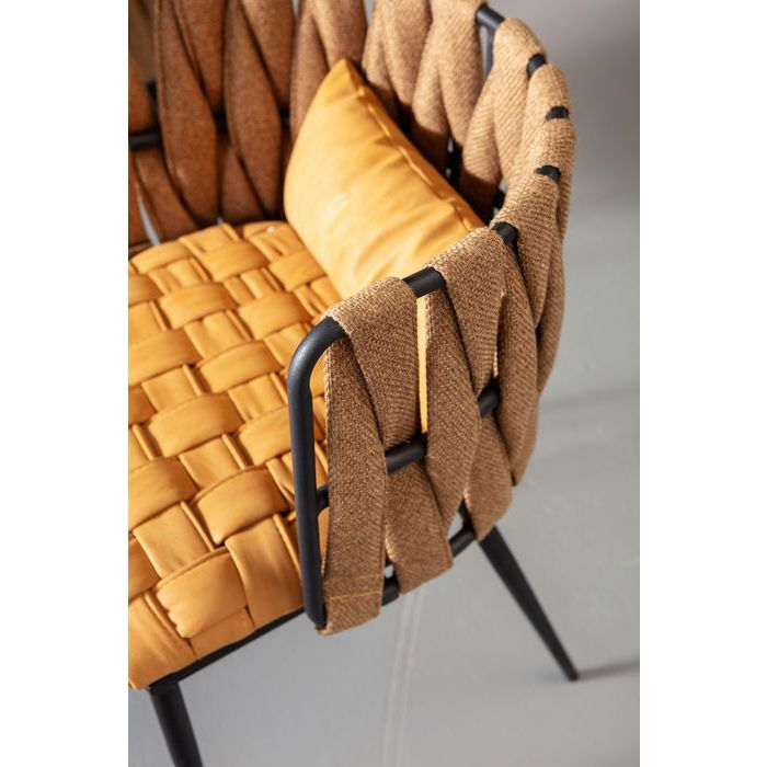 chair with armrest cheerio yellow incl cushion kare design cushions cosy armchair small cushions www pinterest co kr