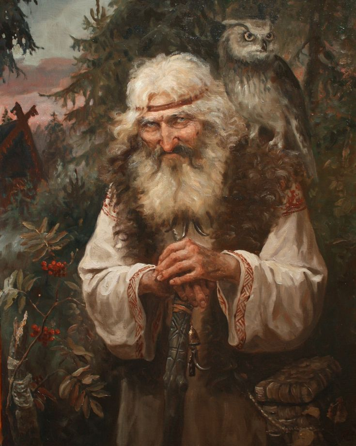 In the wilderness of the forest by Andrey Shishkin(well-known artist, who was born in Moscow in 1960. Here he lives and works now. This Russian artist works in the style of realistic academic painting and creates paintings that delight in its splendor).
