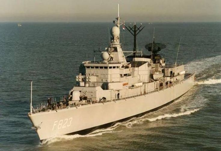 F 823 HNLMS Philips van Almonde - Kortenaer Standard Class Frigate - Royal Netherlands Navy