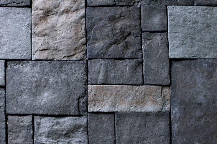 Manufactured Stone Veneer - Euro Castle Thin Stone - Granite / Castle Rock / 120 Sq Ft Crate