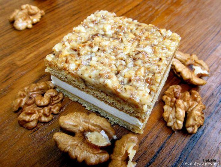 Vlašské medové řezy *** Recept zde : http://nejedle-recepty.blogspot.sk/2012_09_01_archive.html