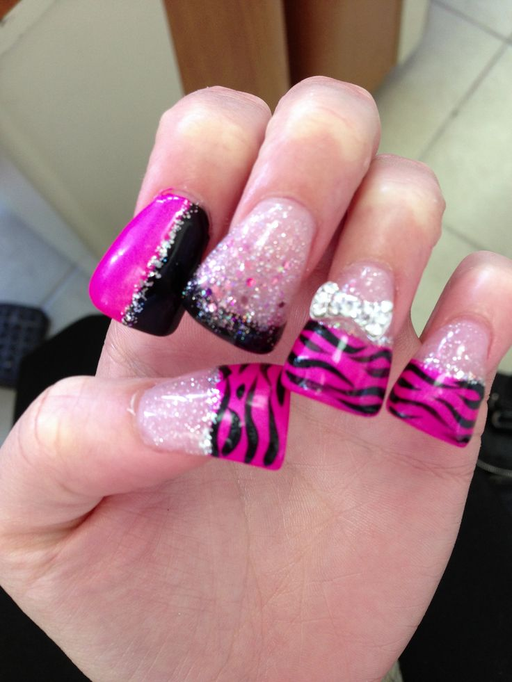 46 best nail junkie (: images on Pinterest | Belle nails, Beauty ...