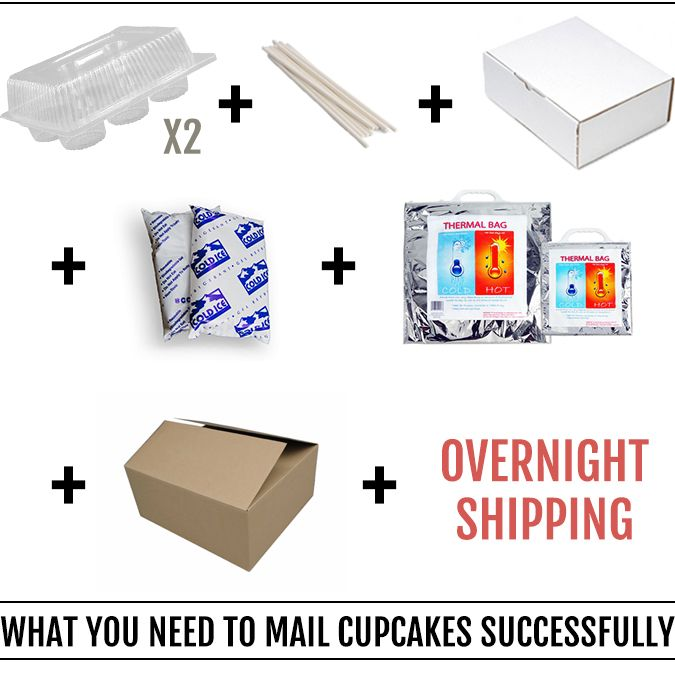 how to send a cake in the mail
