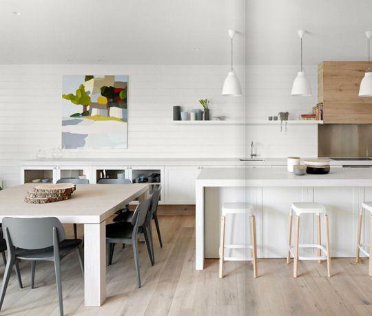 Modern White Oak Kitchen Cabinets: 1000+ Images About Kitchen On Pinterest