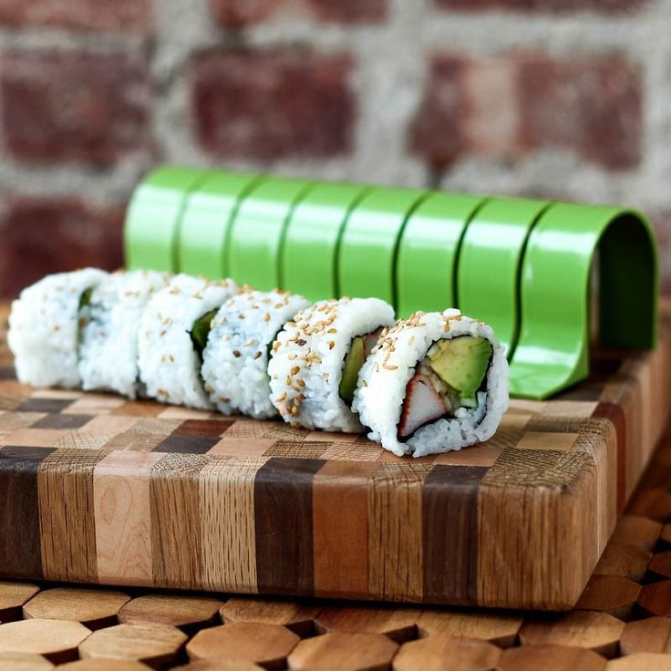 This cool device makes the perfect sushi rolls with ease. Great as a gift with a slight hidden motivation - Sushi ALL the time! I'll take a Shrimp Tempura Roll please.