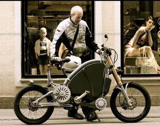 eROCKIT, bicycle or motorbike?
