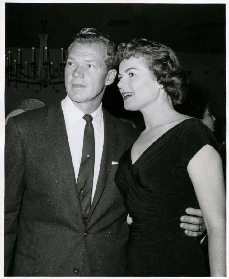 Bill Williams and Barbara Hale