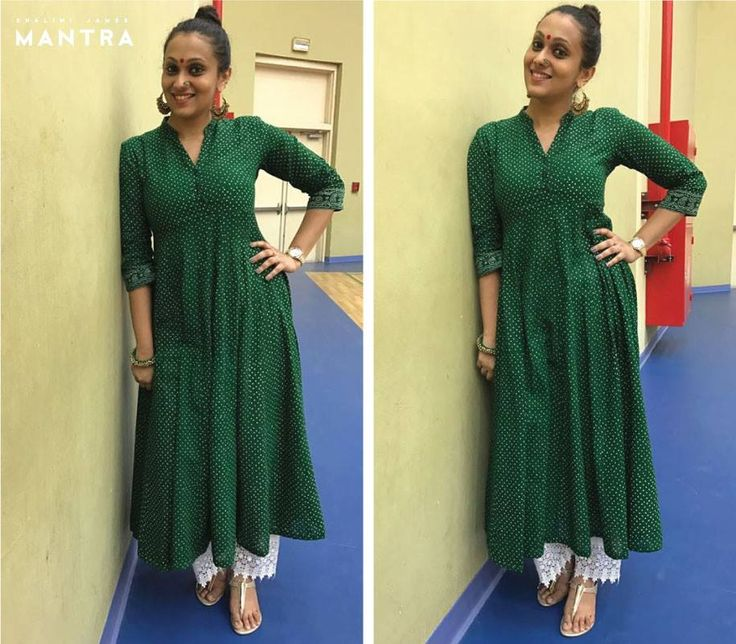 Accessorizing this 'Song of the South' tunic couldn't get more right! Parvathy, we love how you've got it bang on with that top knot, lovely red bindi, statement nose pin, ethnic earrings, and lovely lace palazzos for that added touch of grace. Thank you Parvathy, stunner you are! #SongoftheSouth #ParvathyMenon #ShaliniJamesMantra