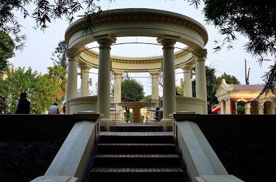 Непал - Индия - о. Бали за 2,5 месяца: Сад Снов (Garden of Dreams) в Катманду