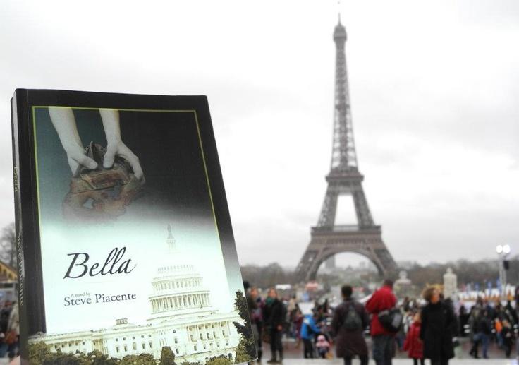 Bella among the Parisians.