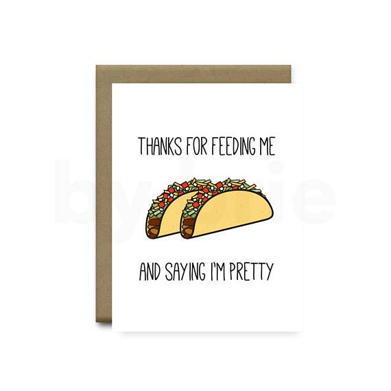 Funny Taco Card Funny Anniversary Card Boyfriend Funny Etsy Funny Anniversary Cards Cards For Boyfriend Anniversary Cards For Boyfriend