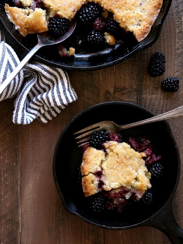 This unique and delicious blackberry cobblerrequires just a few minutes of prep and yields a summer dessert everyone is sure to love. The Pioneer Woman sure knows her stuff. Ree's blog was one of the first I started following back in the day when I beganto teach myself how to bake. That was like, 10 …
