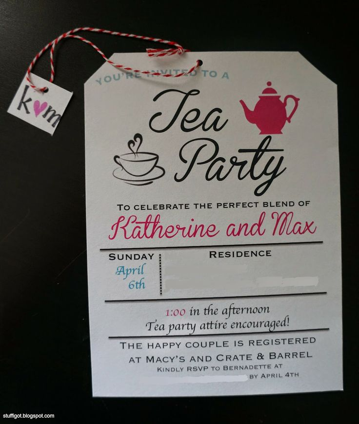 couples bridal shower games free%0A Bridal Tea Party Invitation  teaparty  bridalshower