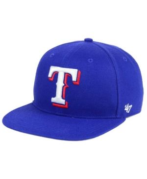 '47 Brand Texas Rangers Team Jackie Robinson Collection - Blue Adjustable