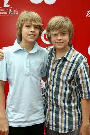 Dylan and Cole sprouse age 15 2008