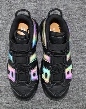 wholesale dealer 5f838 f3b5c Nike Air More Uptempo AIR 3M reflective chameleon Pippen shoes
