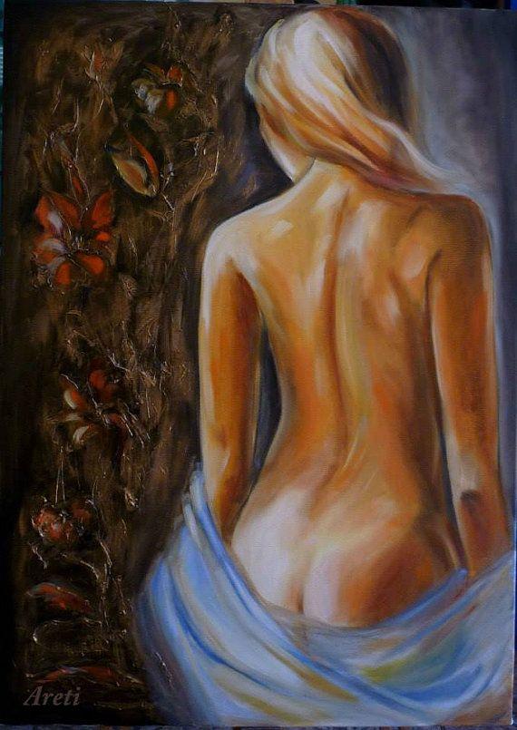Original oil paintings by artstudioAreti on Etsy, €185.00