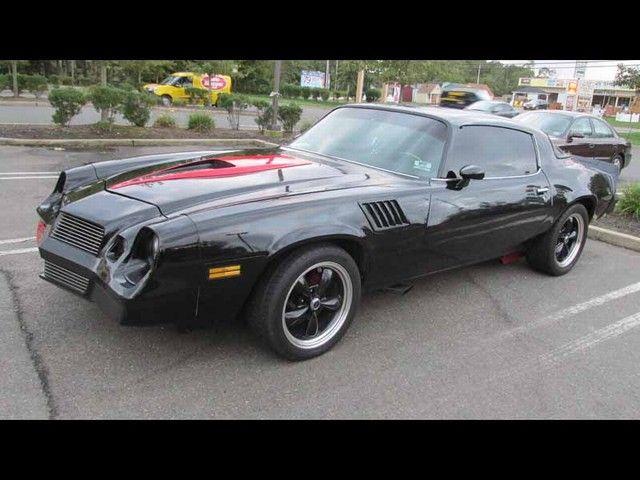 A '78 black Camaro would've won any street race. An American legacy.