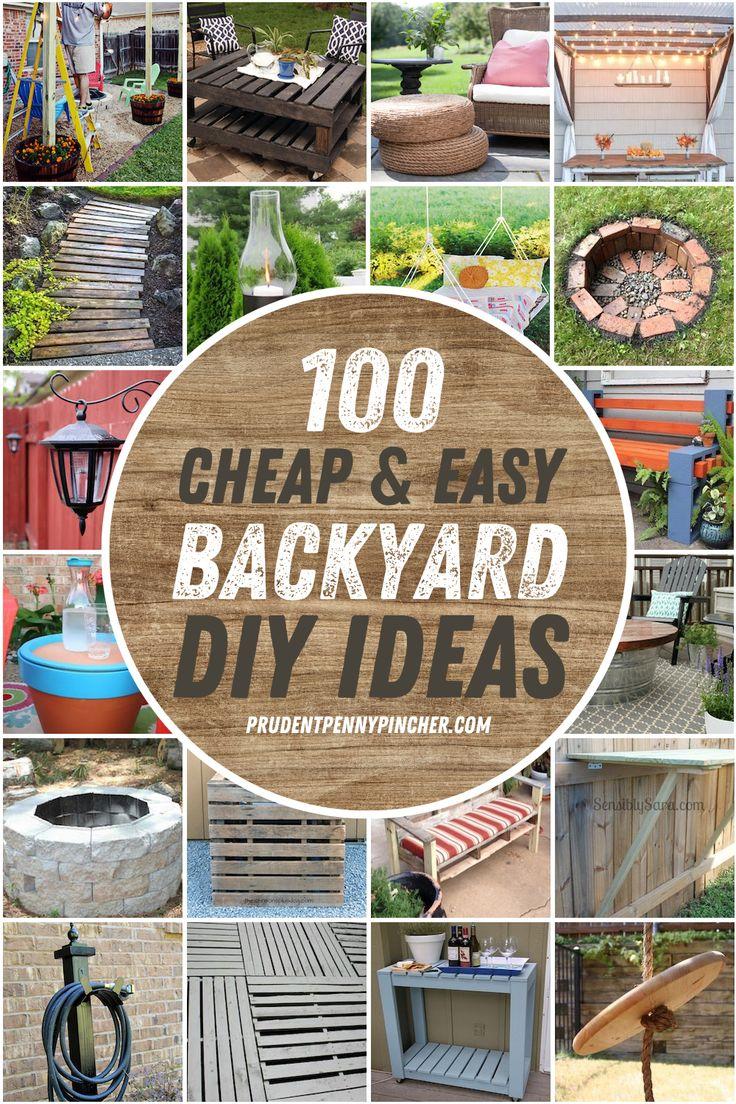 100 cheap and easy diy backyard ideas easy backyard diy