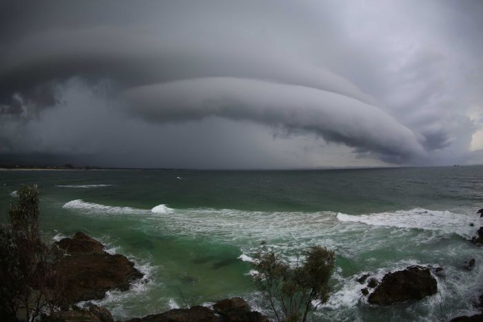 Wild weather across NSW, Qld and ACT