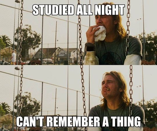 Study Meme #Remember, #Thing