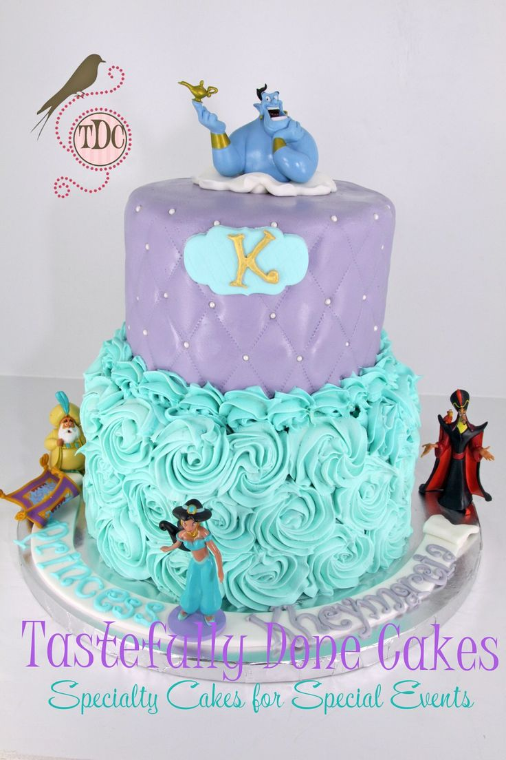 32 Amazing Fall Designed Nail Art That Will Make You Stunned: 32+ Amazing Photo Of Princess Jasmine Birthday Cake