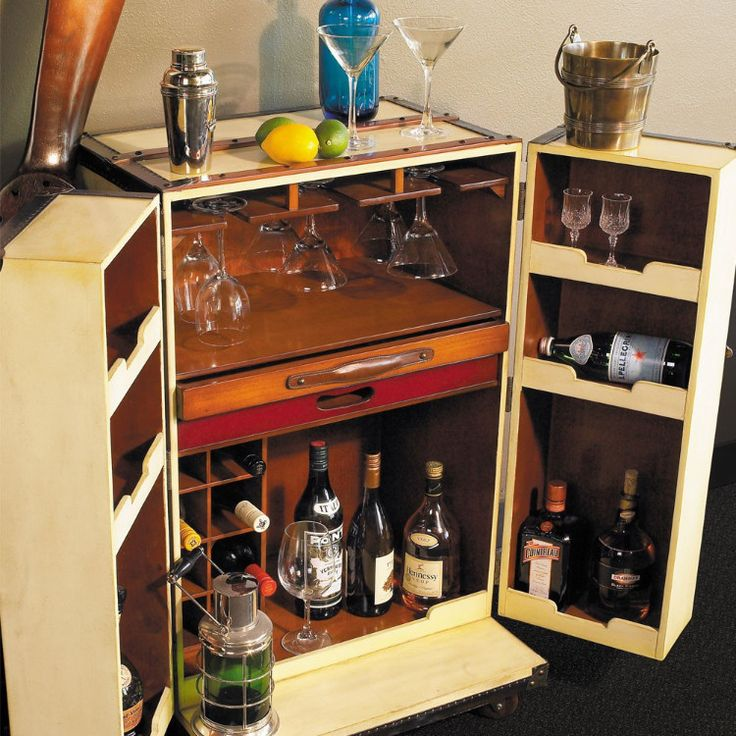 S A L E On Luxury   This Is The Only One   Never To Be Repeated Price.  Vintage Styled Polo Bar   A Bar In A Trunk U2013 Allissias Attic