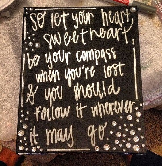 I love, love, love these Lady Antebellum lyrics! Its one of my favorite songs and I really put a lot of heart into making this canvas!      #canvas #etsy #brochadesigns