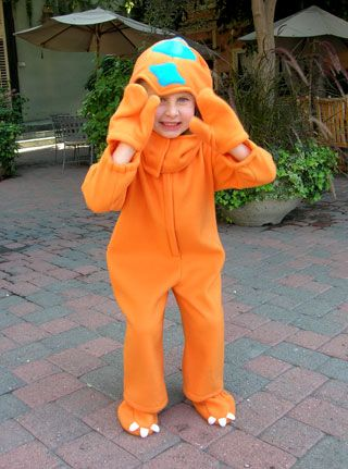 Jim Henson's Creature Shop — the folks who brought you Elmo and Miss Piggy, among many others — have whipped up a Buddy costume, so your kids can dress up as their favorite little T-Rex. Download the pattern and instructions below.    Love it, but don't have time to sew it? No worries. The Creature Shop also created a simple, no-sew option that you can put together in a snap.    #kids #dinosaur #train #costume #diy #henson