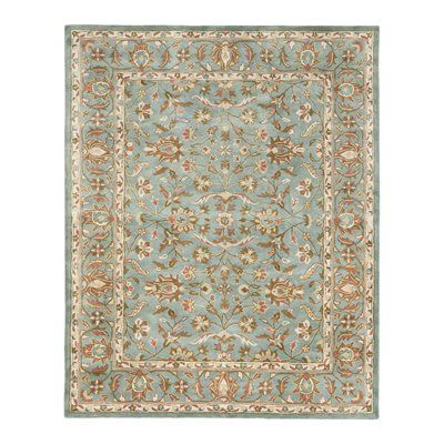 Safavieh HG969A Heritage Area Rug, Blue  Heritage Area Rug, BlueWith rich, luscious detailing and a vibrant feel, Safavieh's Heritage collection brings