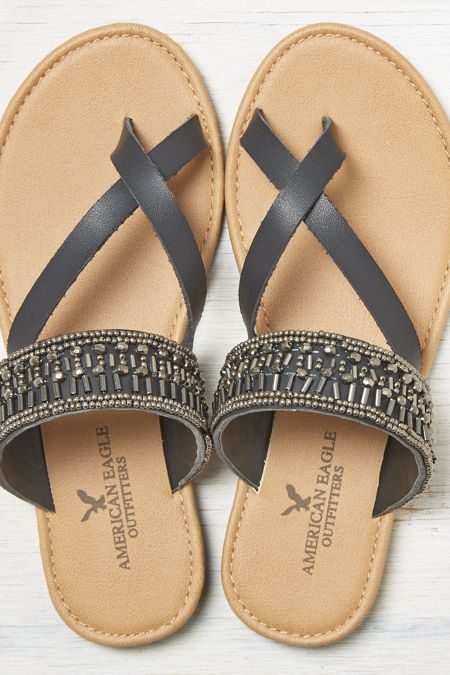 Love these beaded sandals