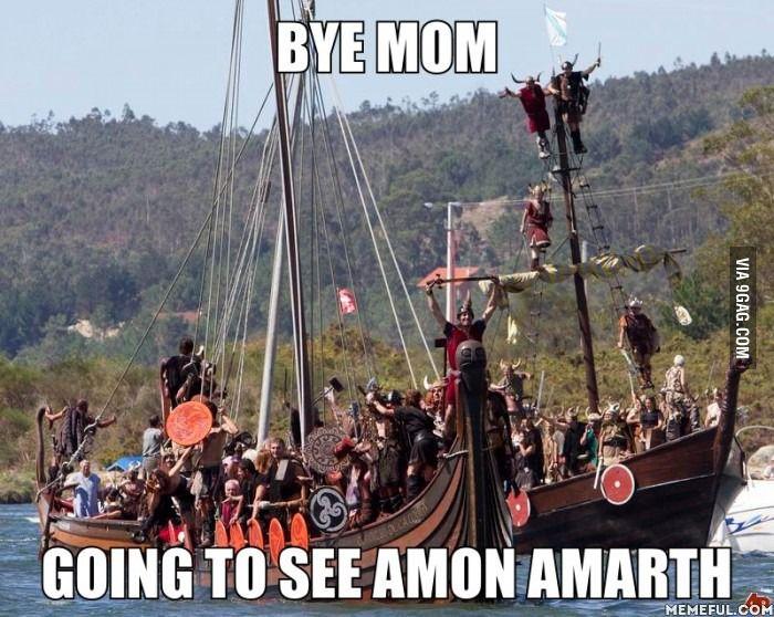 Bye Mom - metal - amon amarth