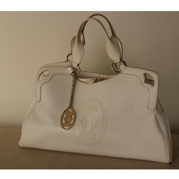 Tip Cartier Handbag White
