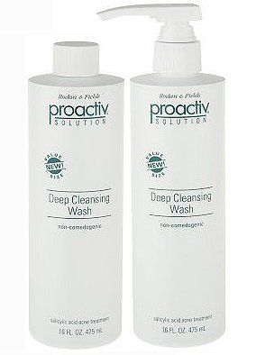 Proactiv Solution Deep Cleansing Wash 16 Oz Set of 2  Price: $44.95