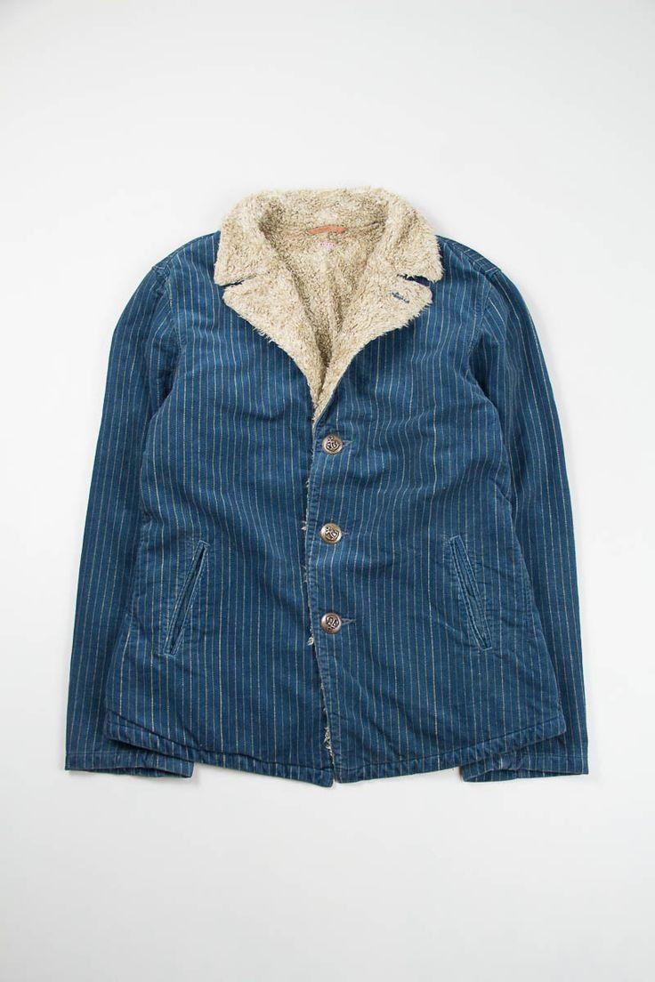 Kapital Indigo Corduroy Wabash Django P coat