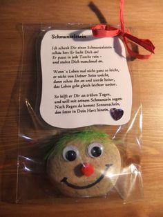 Nettes Geschenk für Freundinnen - Schmunzelstein