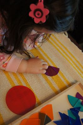 Early Fraction Work (Montessori)