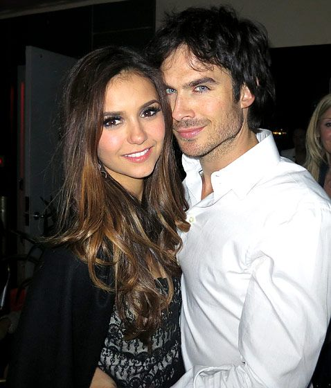 Ian Somerhalder and Nina Dobrev from Vampire Diaries in their real life relationship :-)