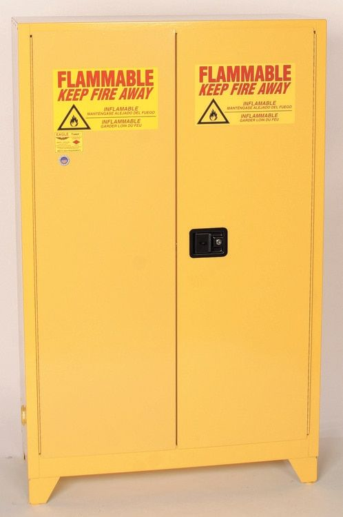 Eagle 4510legs 45 Gallon Flammable Safety Cabinet W Legs Pillow Storage Closest Storage Cabinet