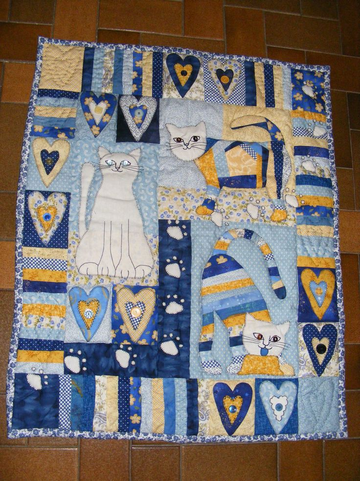I love my Cats quilt