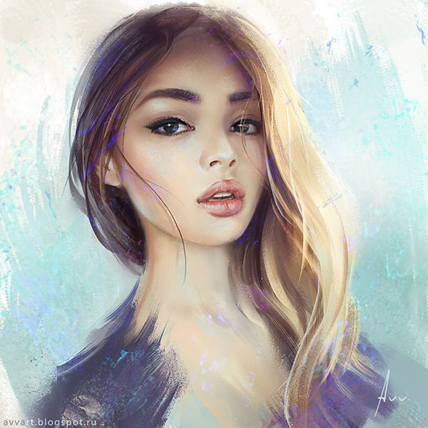 Portraits on Digital Art Served
