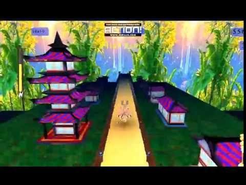 Tarzan Vamoose Running Game