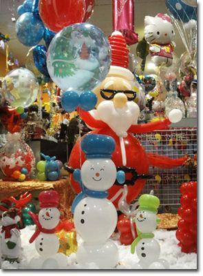 decorar globos navidad - Buscar con Google