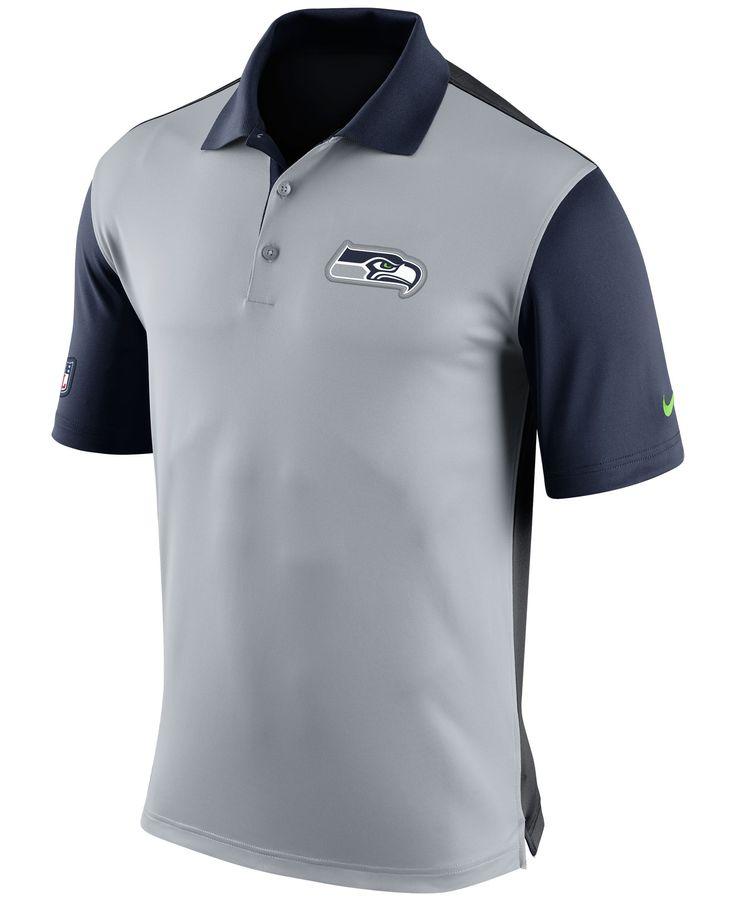 Nike Men's Seattle Seahawks Preseason Polo