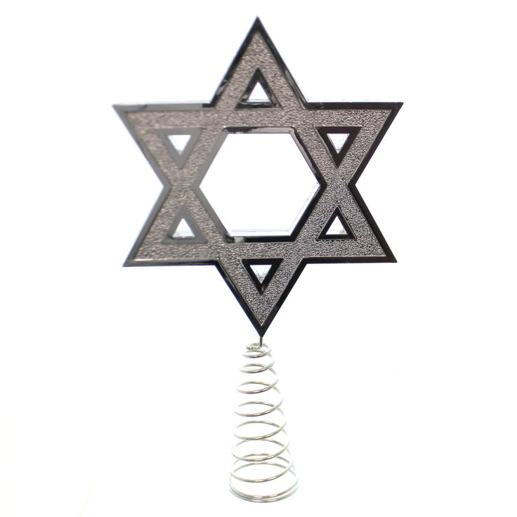 Tree Topper Finial Hanukkah Tree Topper Tree Topper / Finial